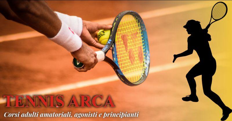 Offerta club corsi di tennis per adulti Bergamo - occasione corsi tennis principianti Bergamo
