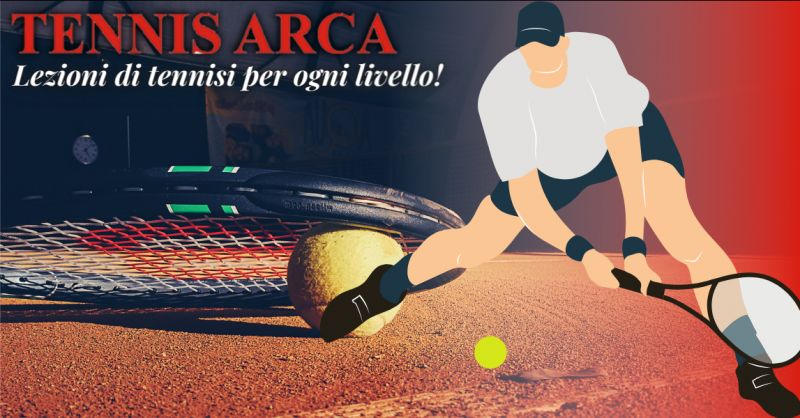 TENNIS ARCA Offerta lezioni amatoriali di tennis Bergamo - promozione club tennis Bergamo