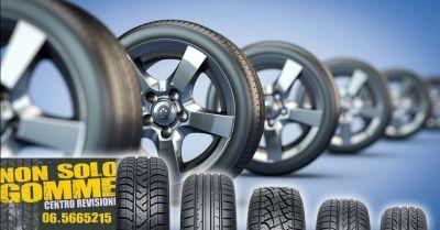 offerta revisione auto cambio gomme auto ostia occasione sostituzione pneumatici auto pomezia