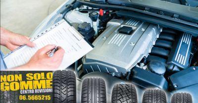 non solo gomme offerta check up auto acilia occasione controllo auto meccanico fiumicino