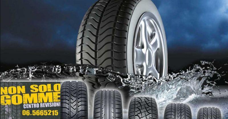 Offerta inversione gomme auto Ostia - Occasione controllo pressione pneumatici Pomezia