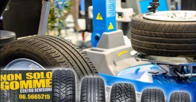 offerta bilanciatura equilibratura ruote pomezia occasione sostituzione pneumatici ostia