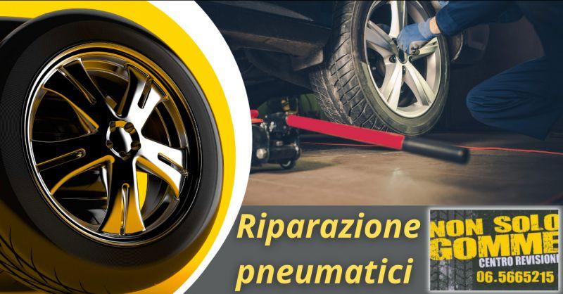 Offerta gommista pressione gomme Roma Ostiense - occasione riparazione pneumatici Cerveteri