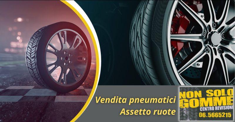 occasione servizio assetto e convergenza Roma Ardeatina - offerta pneumatici di marca Roma Eur