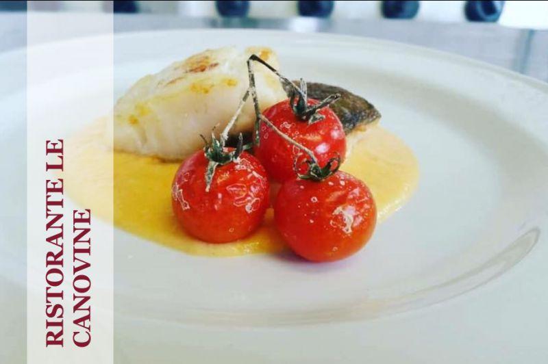 RISTORANTE LE CANOVINE offerta menu fisso - promozione ristorante aperto a pranzo