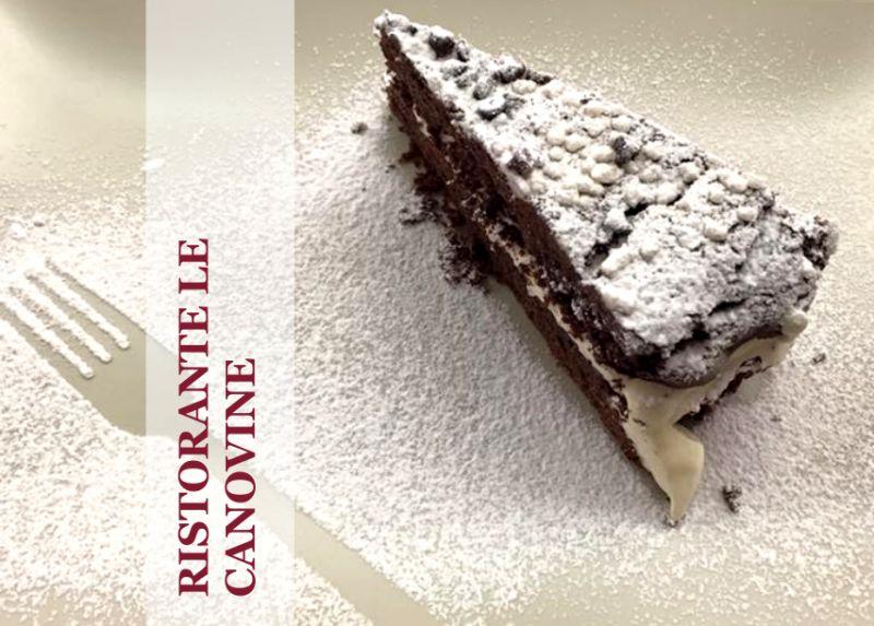 RISTORANTE LE CANOVINE offerta torte fatte in casa - promozione dolci fatti a mano