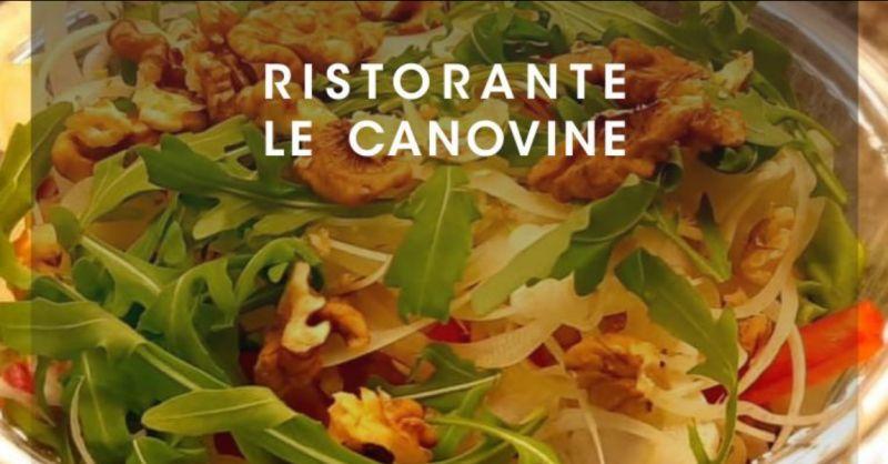 RISTORANTE LE CANOVINE offerta servizio consegna a domicilio gratuita – promozione delivery