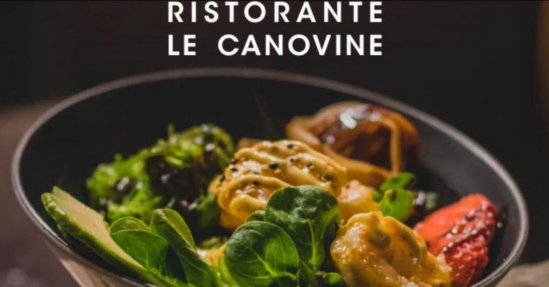 RISTORANTE LE CANOVINE offerta pranzo di lavoro vegetariano – menu fisso vegetariano