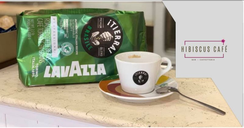 Hibiscus Quartu - offerta colazione con caffe Lavazza Tierra premium blend