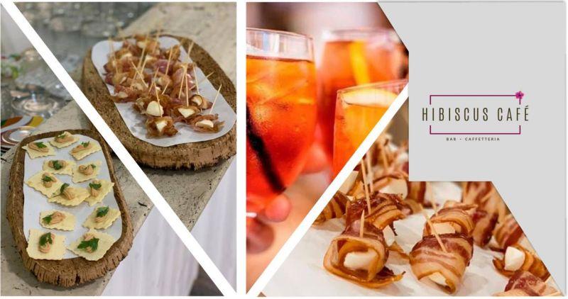 Hibiscus Cafe Quartu - offerta aperitivo con ricco tagliere misto