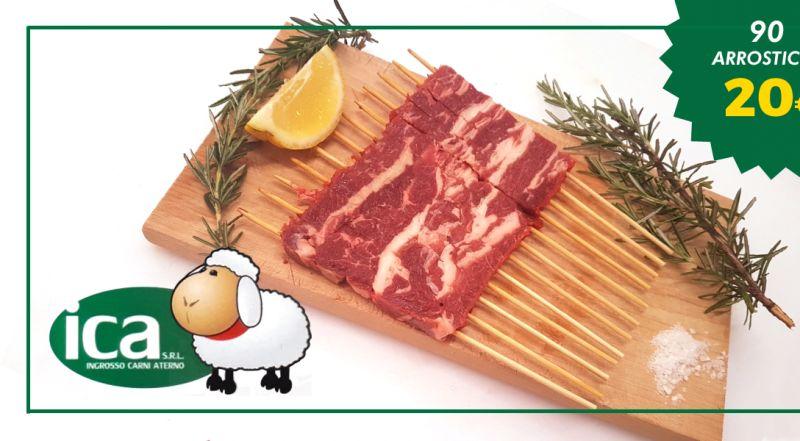offerta vendita arrosticini all ingrosso - occasione arrosticini agnello spedizione nazionale