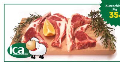 offerta vendita bistecchine ovino consegne italia occasione confezione bistecche ovino 5 kg