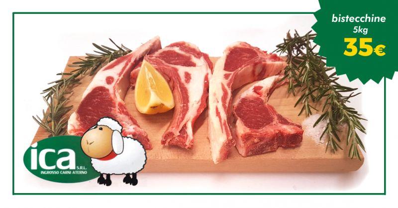 offerta confezione bistecchine di ovino abruzzo - occasione carne di agnello consegna italia