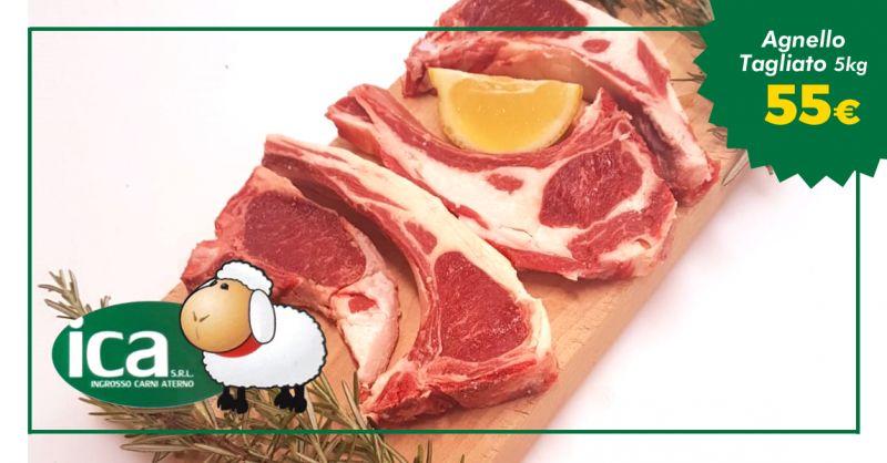 offerta coscio di agnello italiano vendita - occasione bistecchine di spalla agnello italia