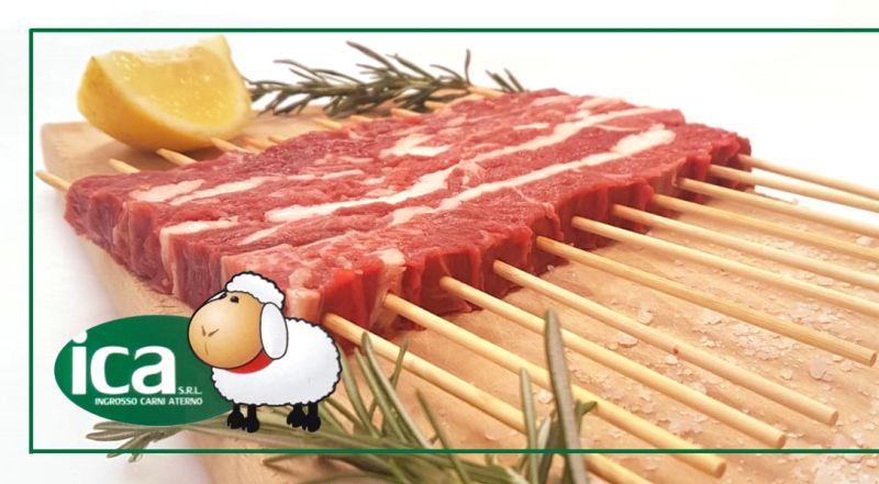 offerta arrosticini di agnello per ristoranti - occasione confezione arrosticini italiani spedizione