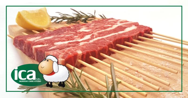 ICA INGROSSO CARNI ATERNO - offerta arrosticini agnello congelati confezione