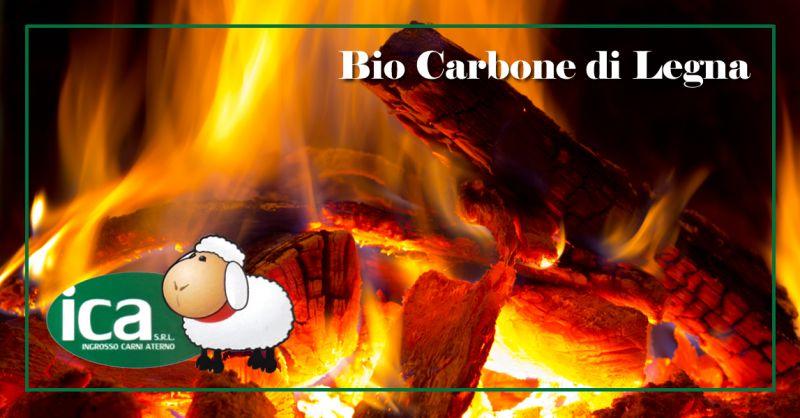 I.C.A. INGROSSO CARNI ATERNO SRL - Offerta Vendita Carbone di Legna Naturale per Barbecue