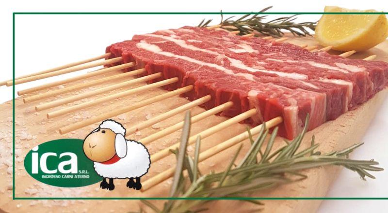 I.C.A. INGROSSO CARNI ATERNO SRL - Offerta Confezione  Arrosticini Abruzzesi di Carni Locali