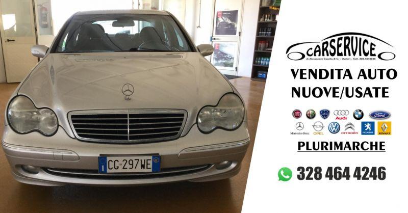 Carservice Oschiri - offerta vendita Mercedes C 220 cdi Elegance