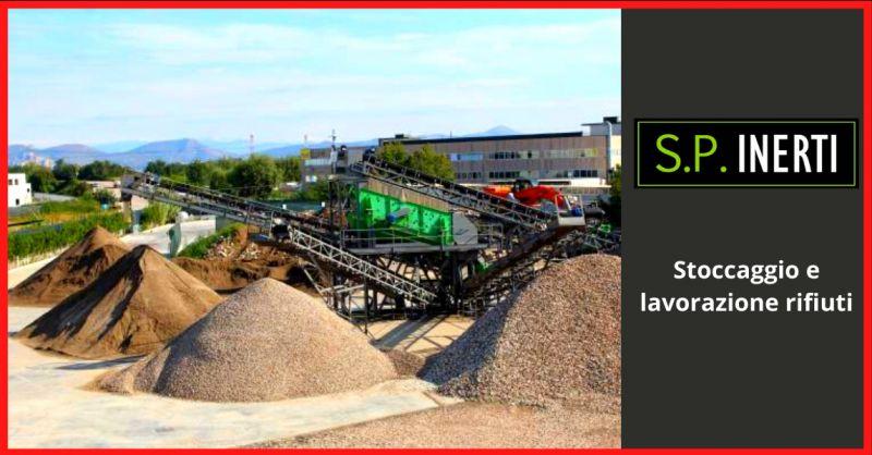SP INERTI - offerta stoccaggio e lavorazione rifiuti caserta