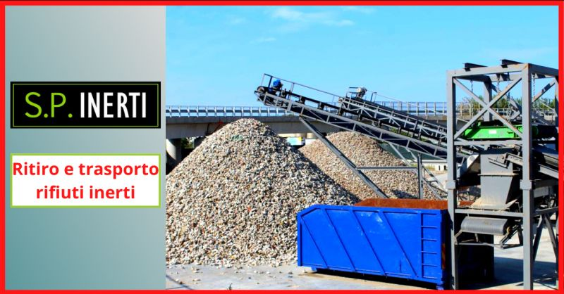 SP INERTI - offerta ritiro e trasporto rifiuti inerti caserta