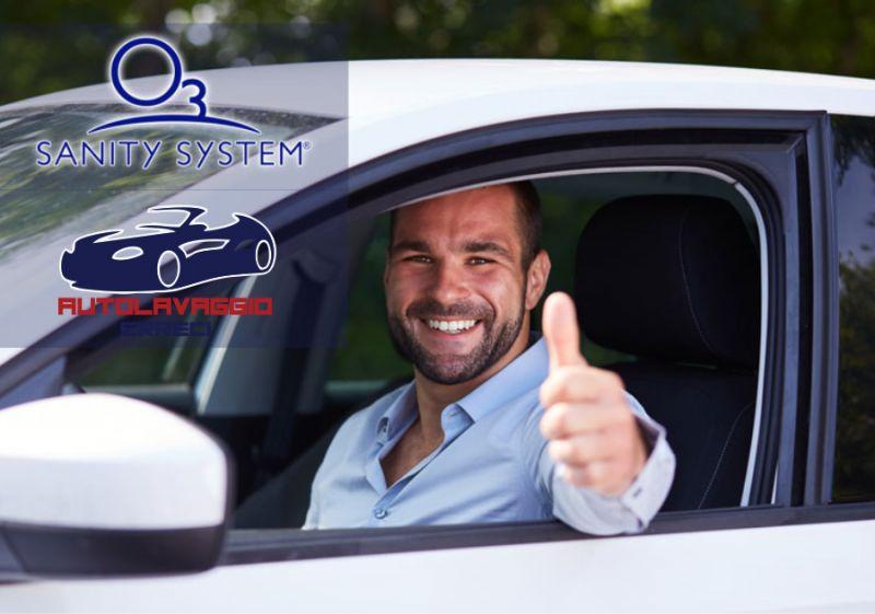AUTOLAVAGGIO ERRECI offerta sanificazione interni auto - promo pulizia auto sanity system ozono