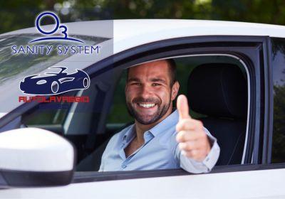 autolavaggio erreci offerta sanificazione interni auto promo pulizia auto sanity system ozono