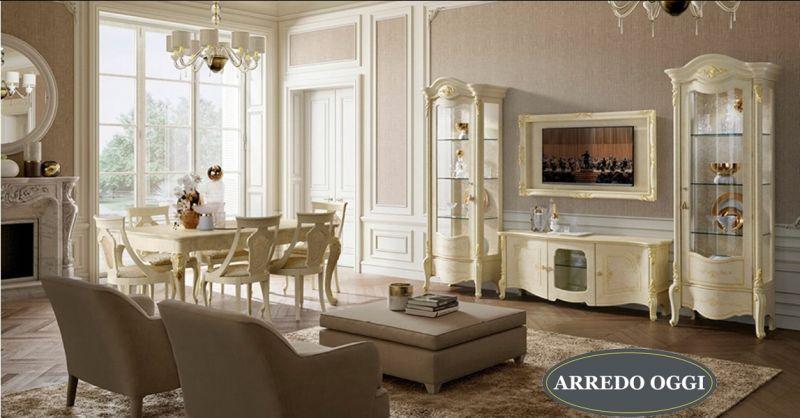 offerta arredamento salone stile classico Caserta -... - SiHappy