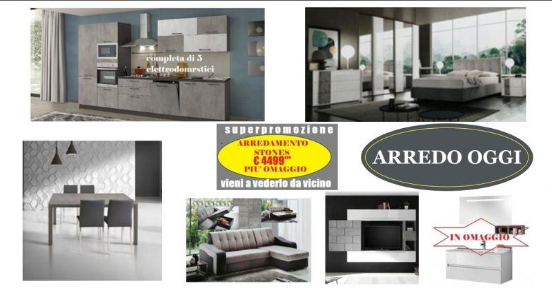 offerta mobili effetto pietra caserta - promozione vendita mobili arredamento completo napoli