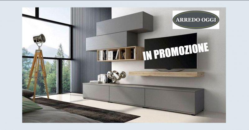 offerta vendita parete attrezzata moderna caserta - occasione montaggio parete soggiorno napoli