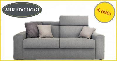 offerta divano letto 2 posti caserta promozione divano letto con materasso 20 cm napoli