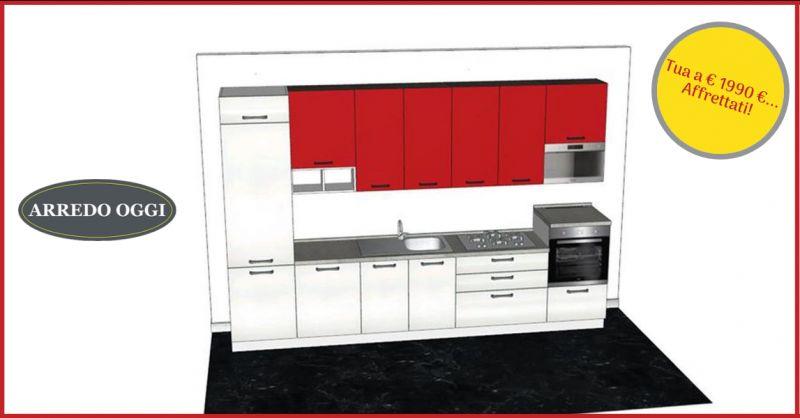 offerta cucina lineare 360 cm caserta - occasione vendita cucina completa beko napoli