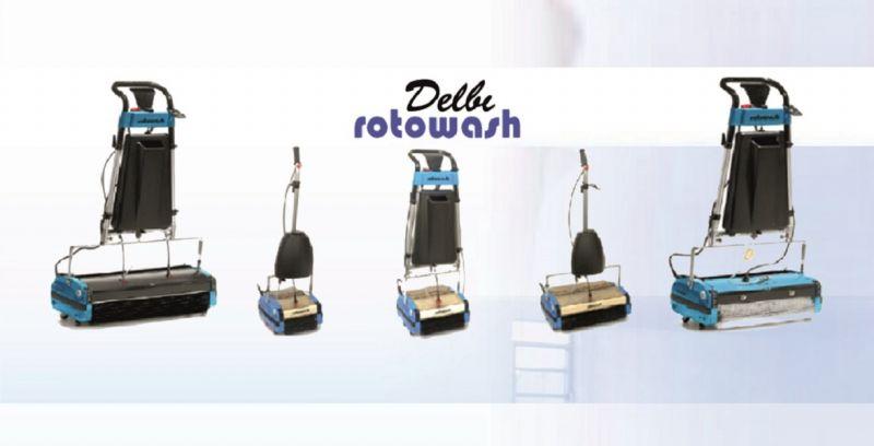 ROTOWASH - vendita e noleggio attrezzature professionali e semiprofessionale per le pulizie