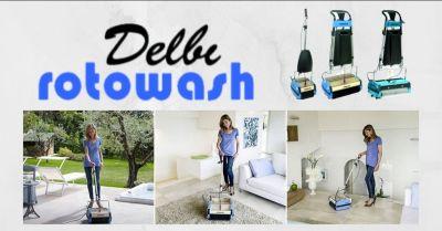 offerta lavapavimenti e lavamoquette per privati e aziende novara delbi rotowash