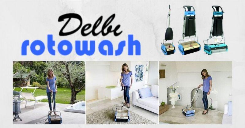 OFFERTA lavapavimenti e lavamoquette per privati e aziende Novara - DELBI ROTOWASH