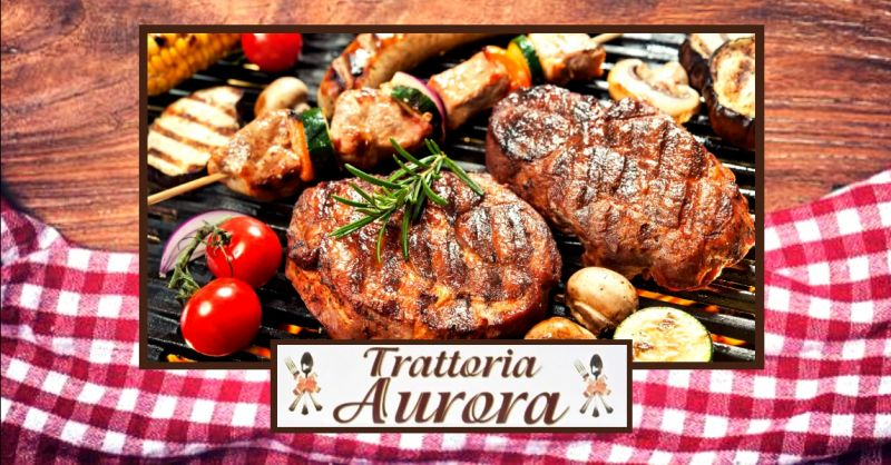 offerta ristorante specialità carne alla griglia - occasione trattoria cucina casalinga Verona