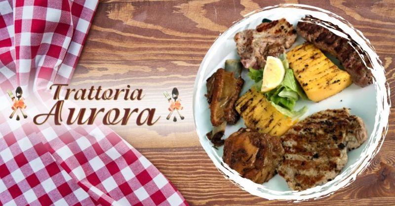 TRATTORIA AURORA - Offerta dove mangiare una buona grigliata di carne vicino al centro Verona