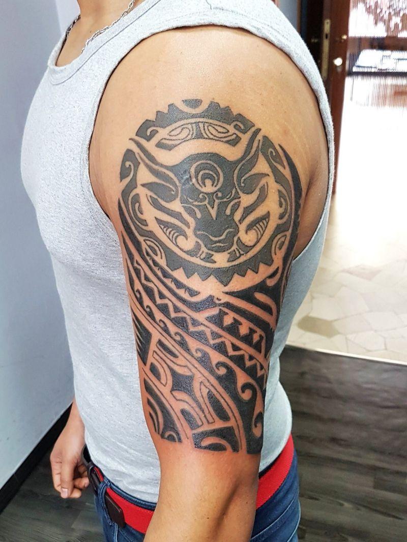 LUKE S TATTOO STUDIO offerta tatuaggi tribali magenta - promozione tattoo tribes tribal abbiategrasso