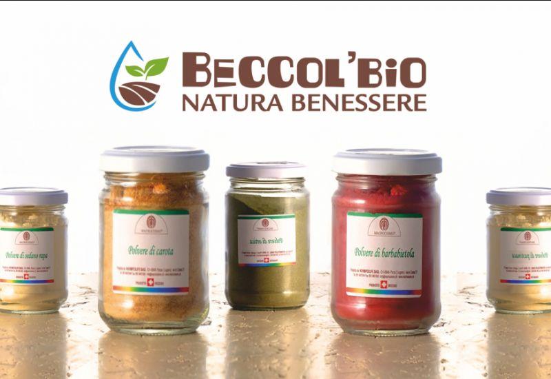 BECCOL BIO NATURA BENESSERE offerta verdure in polvere macrocosmo - verdure macinate a pietra