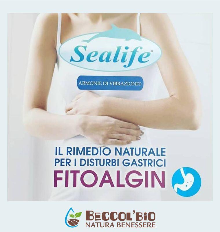 BECCOL BIO NATURA BENESSERE offerta rimedio disturbi gastrici - promozione fitoalgin sealife