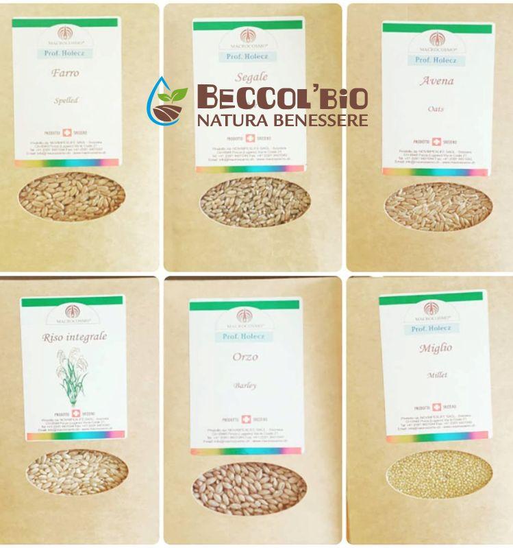 BECCOL BIO NATURA BENESSERE offerta cereali macrocosmo - promozione cereali integrali