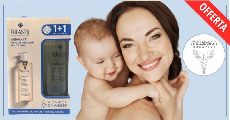 FARMACIA SERAFINI - promozione Rilastil Xerolact olio detergente confezione bipack da 750 ml