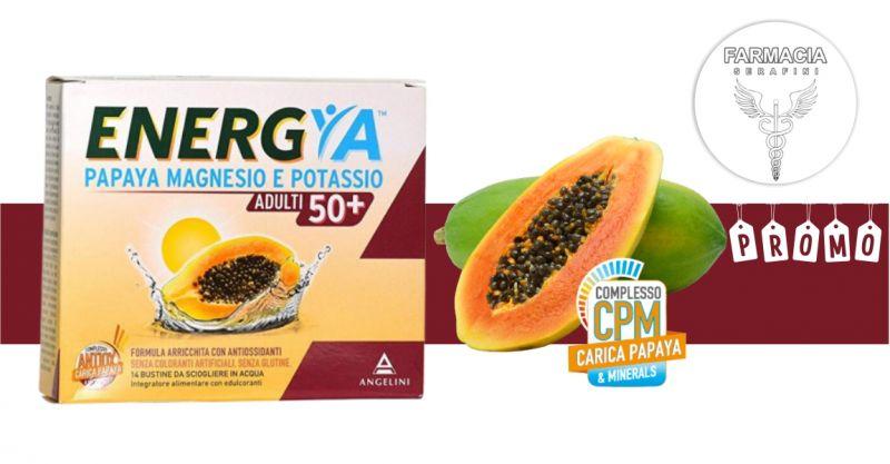 FARMACIA SERAFINI - promozione Energya papaya magnesio e potassio integratore over 50