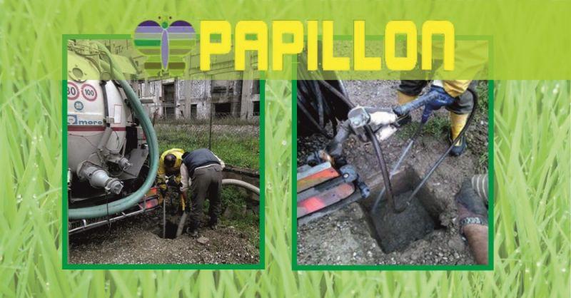 promozione vuotature fosse biologiche civili e industriali Arezzo - PAPILLON spurghi