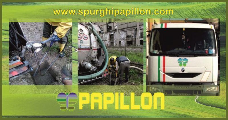 SPURGHI PAPILLON - promozione autospurghi e pulizia fosse biologiche Arezzo