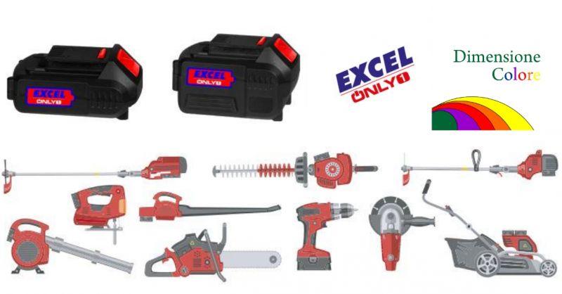 dimensione colore - occasione tanti utensili unica batteria - offerta prodotti Excel - Savona
