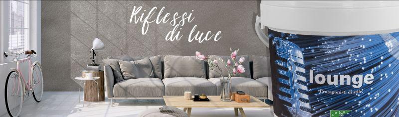 Decorare la casa con i nuovi effetti Tassani ora in vendita presso  Dimensione Colore