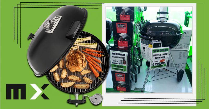 Offerta Barbecue Weber Serie MASTER  Cagliari - Occasione Barbecue a carbone in Sconto Cagliari
