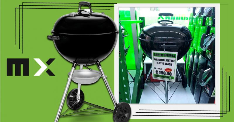 Offerta barbecue a carbonella original kettle 57 Cagliari - Occasione weber barbecue Cagliari
