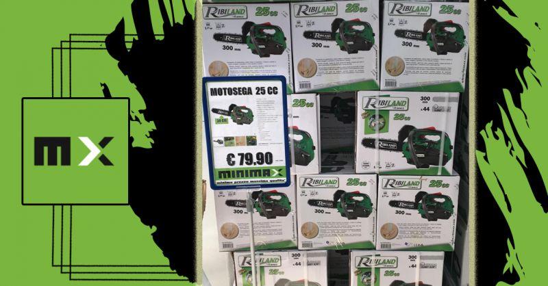 Offerta Motosega a scoppio Ribiland per potatura 25 cc - Occasione Motosega a Benzina Cagliari